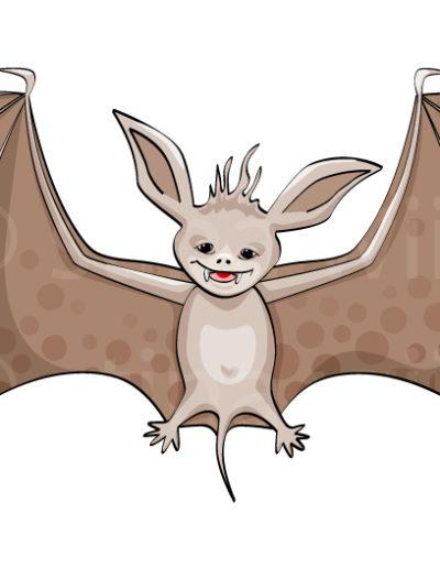 Fladdermus (pageloader) - Mitt i Prick